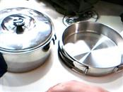TEXSPORT BACKPACKER STAINLESS STEEL COOKSET